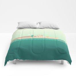 The Life Aquatic with Steve Zissou Comforters