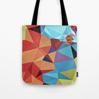 peace Tote Bags featuring inner peace by contemporary