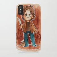 sam smith iPhone & iPod Cases featuring sam by cynamon