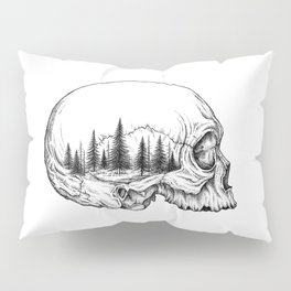 SKULL/FOREST Pillow Sham