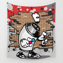 Spray Can Wall Tapestry