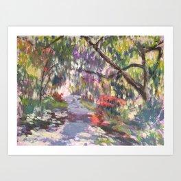 Crystal Springs Rhododendron Garden, spring Art Print