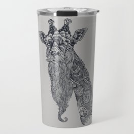 Giraffe Movember Travel Mug