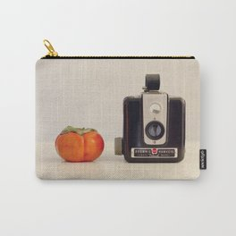 Persimmon and a Brownie Carry-All Pouch