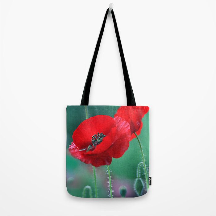 Poppies (light)2 Tote Bag