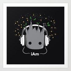 i Am Art Print