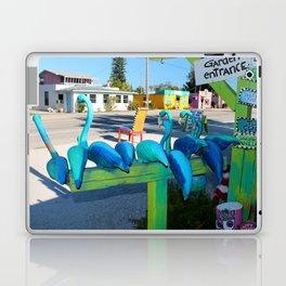 Mailing Flamingos Laptop & iPad Skin