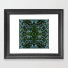 MoonWillow Tile Framed Art Print