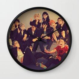 Karasuno Wall Clock