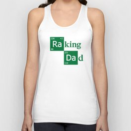 Raking Dad Unisex Tank Top