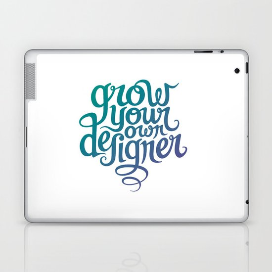 Grow Your Own Designer Laptop & iPad Skin