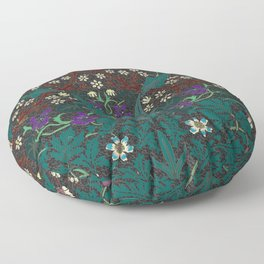 Blackthorn - William Morris Floor Pillow