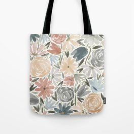 Florals & Foliage (Balloon Florals) Tote Bag