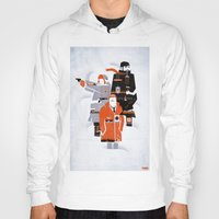 fargo Hoodies featuring Fargo TV Series Poster by Take Heed