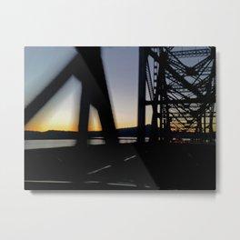 Westbound bridge Metal Print