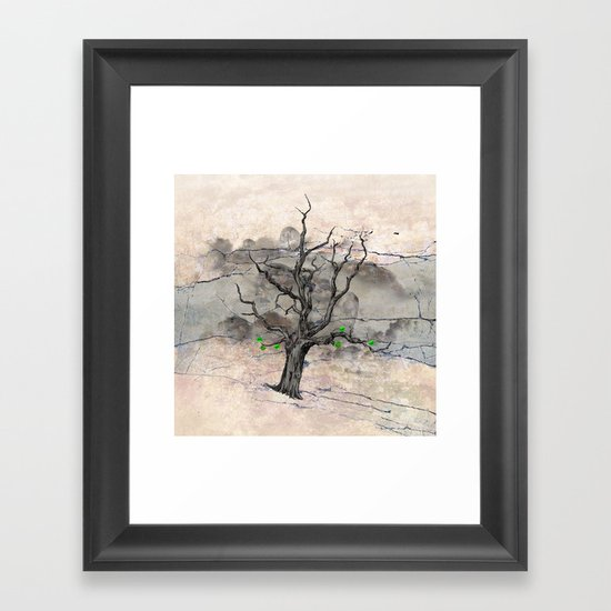 Jake's Tree Framed Art Print