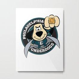philadelphia underdogs Metal Print