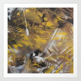 vermont camoflague Art Print