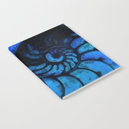 Nautilus Shell No. 987 by Kathy Morton Stanion Notebook