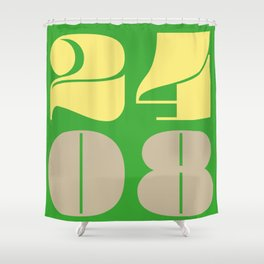 24th August Shower Curtain