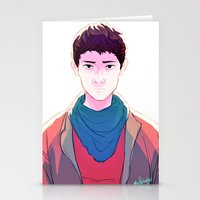 merlin Stationery Cards featuring Merlin by mypabulousscarf