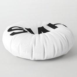 SMH (Shaking My Head) Floor Pillow