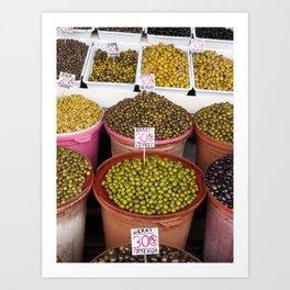Olives Art Print