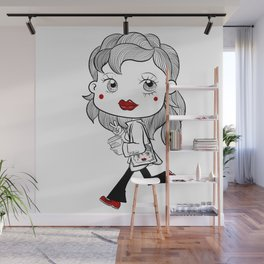 With coffee am ready. Wall Mural