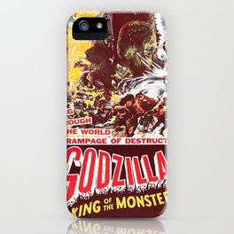 KING OF MONSTERS iPhone Case