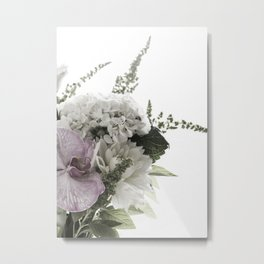 for the love of flowers 1 Metal Print