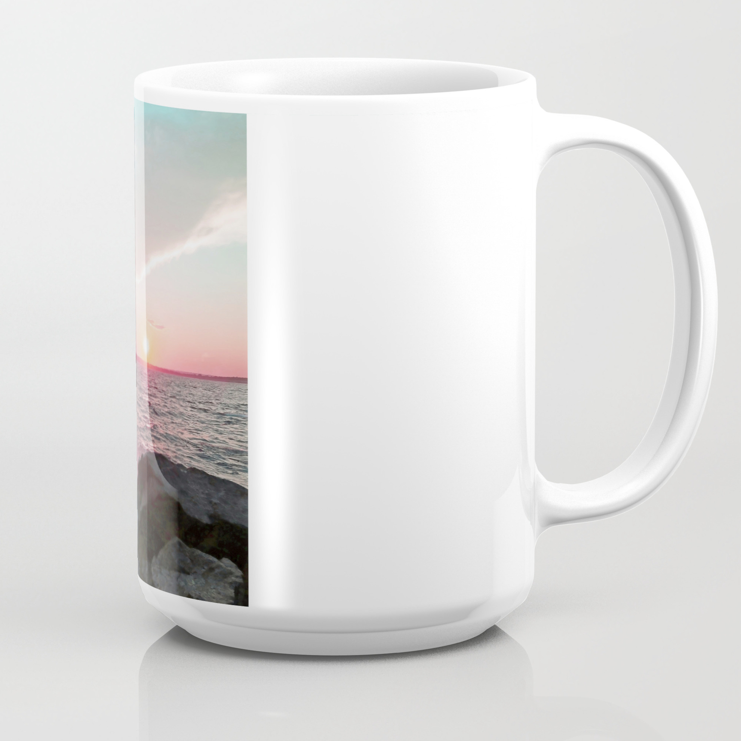 Pink And Blue Sunset Over Newport Rhode Island Coffee Mug By Brookeryanphotography Society6