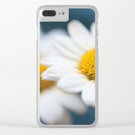 Spring Love #2 - White Marguerite Daisy Flower #decor #art #society6 Clear iPhone Case