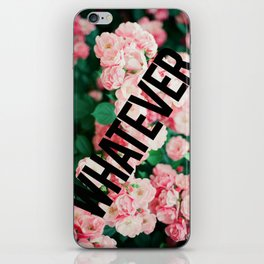 Floral trouble iPhone Skin