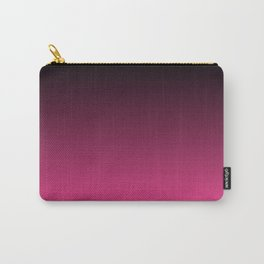 Black To The Fuchsia Carry-All Pouch
