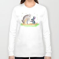 ohana Long Sleeve T-shirts featuring Ohana Means Family by Avedon Arcade