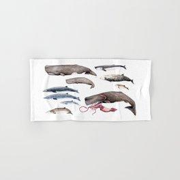 Deep sea whales Hand & Bath Towel