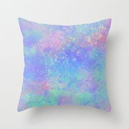 Pastel Marble Throw Pillow