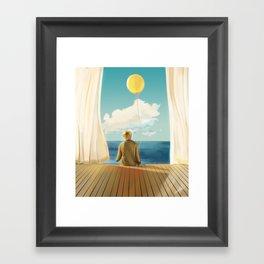 Love your self Framed Art Print