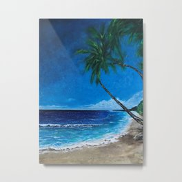 TROPICAL BEACHES Metal Print