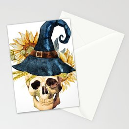 Skull 05 Stationery Cards