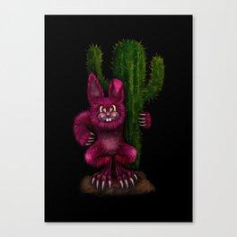 Desert Bunny Canvas Print