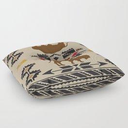 American Native Pattern No. 180 Floor Pillow