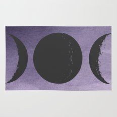 Triple Moon Goddess Rug