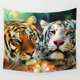 Tiger Lillies Wall Tapestry