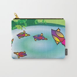 Lucky Ducks Carry-All Pouch