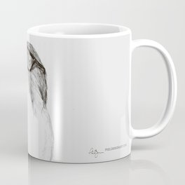 Hawk with Poor Eyesight Coffee Mug