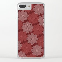 Op Art 92 Clear iPhone Case