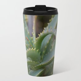 Aloe Vera Leaves  Travel Mug