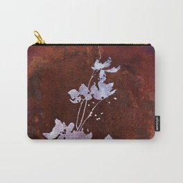 Flaming Flowers Carry-All Pouch