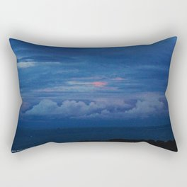 Painted Sky at Dusk (Chicago Sunrise/Sunset Collection) Rectangular Pillow